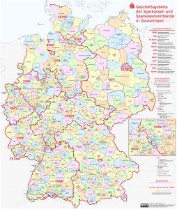 Karte Sparkassen Deutschland