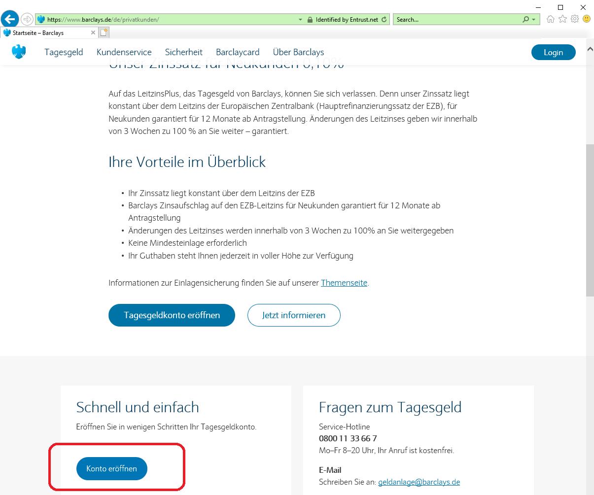 barclays deutschland online banken konto eroeffnen