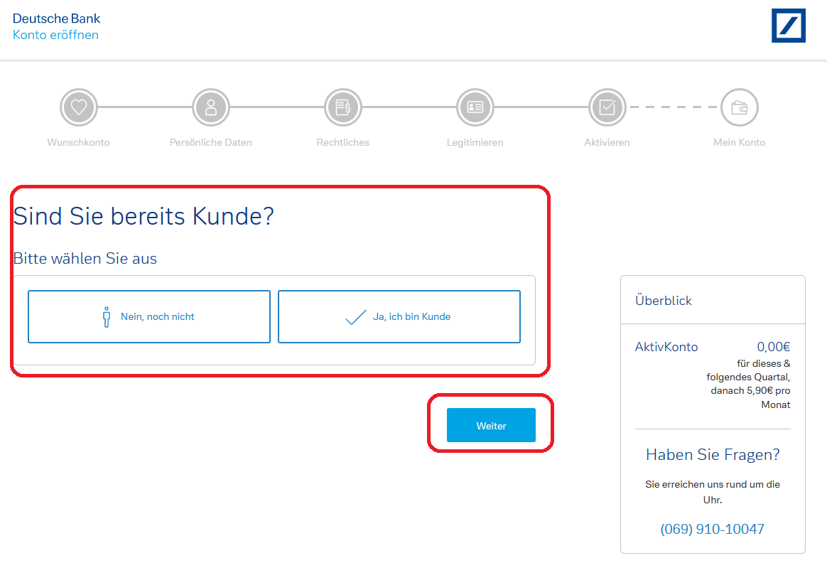 deutsche bank online banken konto eroeffnen 3