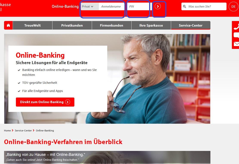 berliner sparkasse online banken login